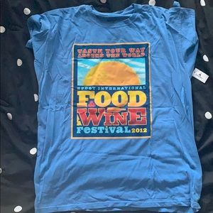 EPCOT food and wine festival t shirt